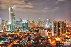 Manila skyline See It, Manila, San Francisco Skyline, Philippines, Places Ive Been, New York Skyline, Travel, Viajes, Traveling