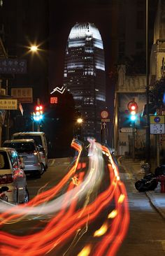 The Big Rush – Hong Kong City Movement – Long Exposure Photography by Brian Yen