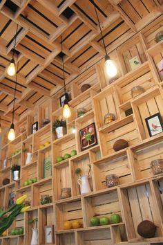Projeto do Every Studio de Design para a empresa Pressed Juices, Austrália