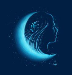 Moonlight Grace, an art print by Enkel Dika - INPRNT