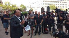 POWERFUL: Alex Jones Destroys MSM At Austin Child Custody Press Conference