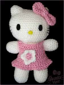 hello kitty crochetted!