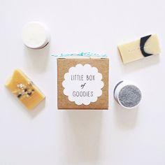 Little Goodies Gift Box Velvet  Soap Body Polish by viceandvelvet, $16.50