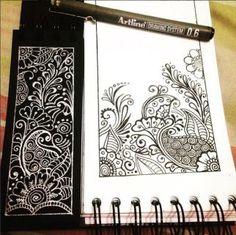 Resultat d'imatges de letras zentangle art
