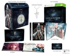 Box Packaging, Final Fantasy, Book Art, Product Launch, Concept, Digital, Altered Books