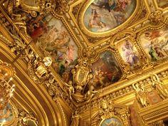Guilt over gilt? Opera, Old Things, Fair Grounds, Paris, Montmartre Paris, Opera House, Paris France