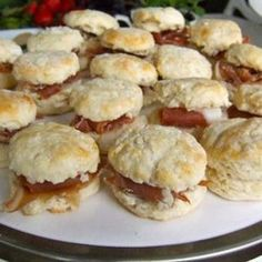 Country Ham Biscuits one of my very favorite meals!!!!