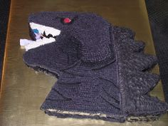 Creative Cakes by Carey:   Godzilla
