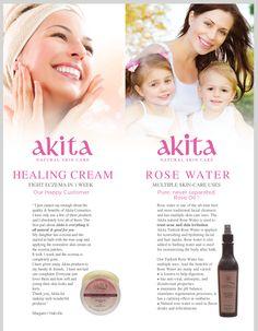Akita Product Flyer Design