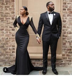 Stunning Prom Dresses 2018 Modest Formal Evening Party Pageant Gowns African Deep V-Neck Long Sleeve Yousef Aljasmi Dubai Arbic Cheap Engagement and Hochzeitskleid - Prom Dresses 2018, Pageant Gowns, Formal Dresses, Wedding Dresses, Formal Wear, Party Gowns, Bridesmaid Dresses, Special Dresses, Dresses Dresses
