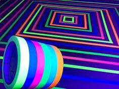 Schwarzlicht Party Glow Party TAPE Schwarzlicht Party Glow in the Dark Party Glow in the Dark Party Neon Party Party Glow in the Dark Birthday - Party Disco Party, Uv Party, Party Time, Glow In Dark Party, Glow Stick Party, Glow Sticks, Black Light Party Ideas, Black Party, Neon Licht
