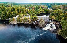 12 Bucket List Waterfalls In Ontario That You Can Swim In - Narcity Ontario Travel, Toronto Travel, Alberta Canada, Ottawa, Ontario Parks, Canadian Travel, Vancouver, Beautiful Waterfalls, Van Storage