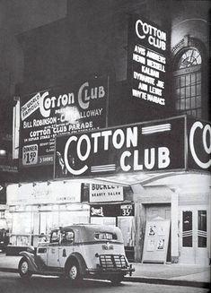 Cotton Club, Harlem                                                                                                                                                                                 More