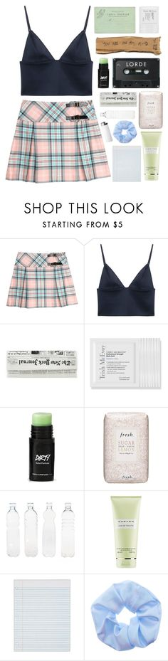 """Bring the sunshine in"" by mint-green-macaroonn ❤ liked on Polyvore featuring T By Alexander Wang, Trish McEvoy, Fresh, Seletti and Carven"
