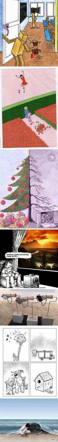 Otra imagen que demuestra la realidad de este mundo :'(