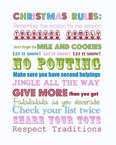 11 {FREE} Christmas Printables — My Blessed Life™