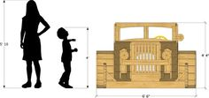 Both small and sweet, this wicked hot rod may not be terribly large, but it sure has style. Designed after a 32' coupe, this wooden playhouse plan will impress!