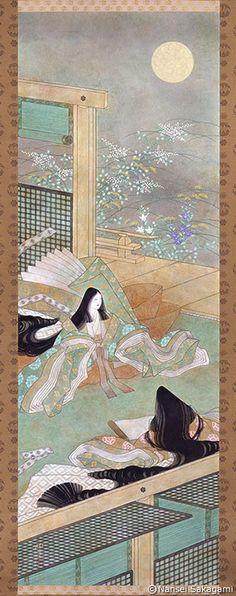Shuuenzu, c. 1988 by Nansei Sakagami - Masterpiece of Yamato-e paintings