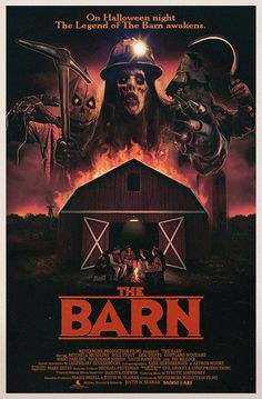 Director Justin Seaman premieres a retro trailer for upcoming Halloween Horror, THE BARN