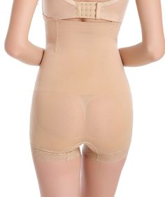 83835bc7e4 Womens High Waist Shapewear Tummy Control Thigh Seamless Boy short Butt  lifter Lace panty Body Shaper -- More info could be found at the image url.