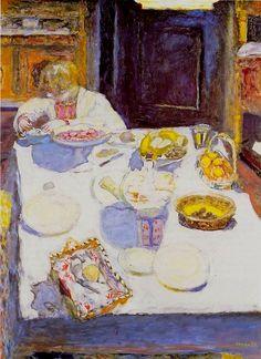 Pierre Bonnard - La Table