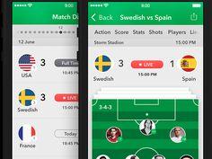 Soccer World Cup 2014 App [2 Screen's]