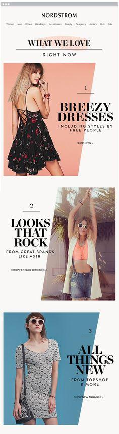 New fashion design layout inspiration email marketing ideas Minimal Web Design, E-mail Design, Design Blog, Layout Design, Design Trends, Design Ideas, Newsletter Layout, Email Layout, Email Newsletter Design