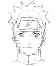 drawing naruto step by step 13 Naruto Drawings Easy, Anime Drawings Sketches, Cartoon Sketches, Manga Drawing, Cute Drawings, Naruto Uzumaki, Manga Naruto, Manga Anime, How To Draw Naruto