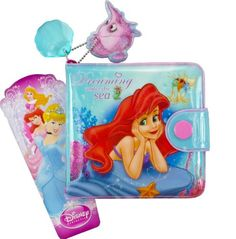 Wallet Accessory Gift for Girl Kids Disney Fairytale Wallet Princess Stars the Little Mermaid Coin Purse Pocket Billfold Wallet for Girl Toy Unique Gifts For Girls, Wallets For Girls, Princess Star, Billfold Wallet, Disneyland Trip, Special Girl, Toys For Girls, The Little Mermaid, Ariel