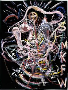 """From the Art Collection of the High Museum: """"She Mistook Kindness for Weakness (SMKFW)"""" (Oil and modeling paste on velvet) by Julian Schnabel Bad Painting, Velvet Painting, High Museum, Art Museum, Neo Expressionism, Painting Gallery, Art And Architecture, Mind Blown, Cool Art"""
