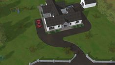 New Detached Bungalow and Detached Domestic Garage in Co. Old School House, Bungalow, Golf Courses, Old Things, Garage, Projects, Drive Way, Log Projects, Bungalows