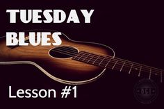 Using the A7 Chord for Blues   Tuesday Blues Lessons #001