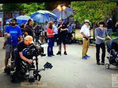 OMG there I am to the right of Greg Nicotero with the black shirt!!! #rkmaxfield