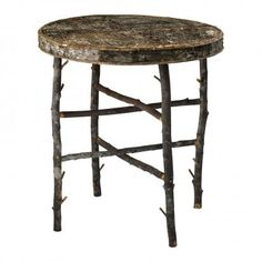rustic woods table