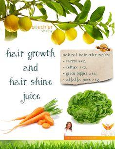 Best hair growth juice