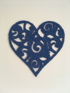 Unique laser cut HEART wall sign with wooden base and decorated with blue Scandinavian lichens.  Lichens have been preserved using non-toxic processes that make them last many years without any maintenance. No water, sun or humidity is necessary, the only care is to keep them away from direct sunlight.   Measures: 28 x 28 cm Heart Wall, Wall Signs, Laser Cutting, Swirls, Sunlight, Scandinavian, Base, Unique, Nymphs