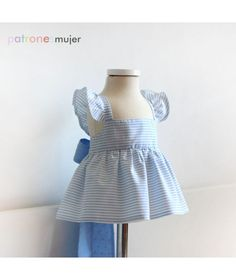 Bloomer with cuff. Spanish Design, Sailor Dress, Kids Boutique, Pdf Sewing Patterns, Baby Sewing, Pattern Fashion, Kids Outfits, Summer Dresses, Clothes