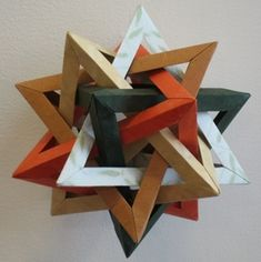 Erik Demaine is just brilliant at Origami