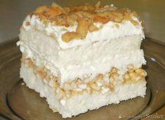 Polish Desserts, Polish Recipes, Cookie Desserts, Cake Recipes, Dessert Recipes, Delicious Desserts, Yummy Food, Kolaci I Torte, Vegan Sweets