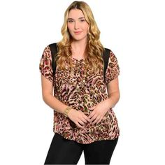 PRE-ORDER - BLACK PINK IVORY PLUS SIZE TOP $36.00 http://www.curvyclothing.com.au/index.php?route=product/product&path=95_101&product_id=6969&limit=75