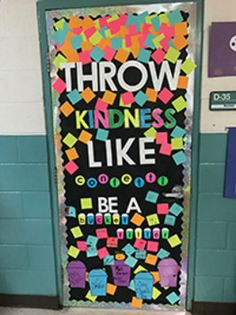 The Cutest Kindness Door Decorations Throw Kindness Like Confetti