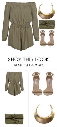 """""""Preadored 9"""" by emilypondng ❤ liked on Polyvore featuring New Look, Steve Madden, LULUS, modern, vintage and PreAdored"""