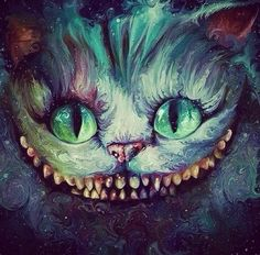 Cheshire Cat Art