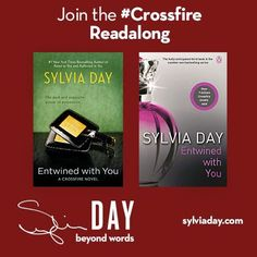 We're continuing the #Crossfire readalong with Chapter 5 from #EntwinedwithYou. #BookFetish