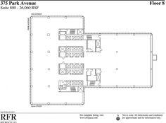 Floor 8. Seagram building by Mies van der Rohe  in association with Philip…