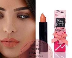 Matte lipstick with argan oil by Beauty loop Tutti Frutti, Argan Oil, Matte Lipstick, Instagram Feed, Beauty, Beauty Illustration