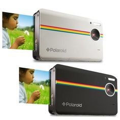 """Polaroid, the company that created the instant imaging revolution, is now attracting a new generation of fans.  Gone are the days of bulky cartridges. Today's models such as the Z340 instant digital cameras print in full color using ZINK Zero Ink Technology. Snap digital photos, print them """"computer-free"""" in under a minute, or connect to a computer to share them through social media.  #polaroid #digitalcamera"""