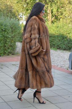 NEW RUSSIAN SABLE FUR SWINGER COAT CLAS JACKET MINK FOX LYNX CHINCHILLA BARGUZIN   eBay