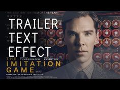 Puzzle INTRO Reveal │ After Effects TUTORIAL (IMITATION Game Trailer TEXT EFFECT!) - YouTube