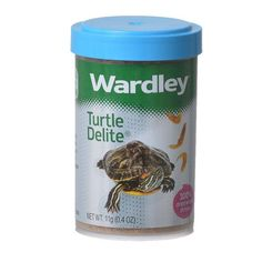 .40oz Wardley Turtle Delite is a nutritious supplement made of 100 percent dried whole shrimp that your pet turtle will be sure to love. Delicious flavor makes it the perfect treat for your turtle.